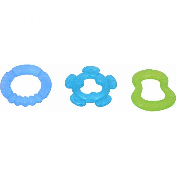 Buy Baybee Baby Water Filled Teether (Blue and Green)