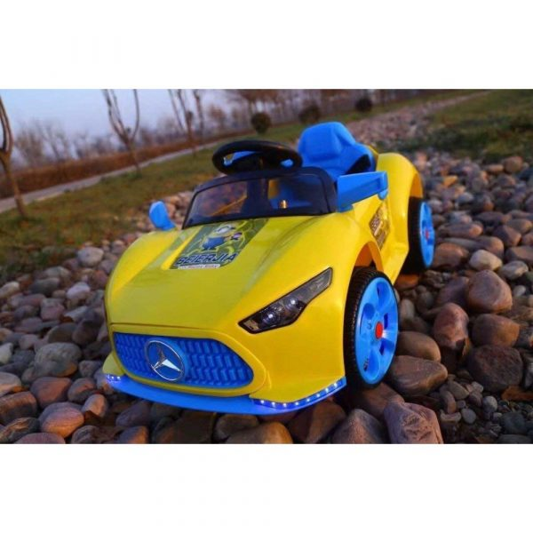 Buy Baybee Mercedes Benz A Class Battery Operated Single Motor Ride On Car MP3 + USB Player - ( Yellow )