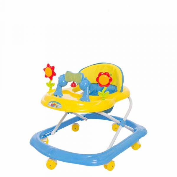 Buy Baybee - Bonnie Walker Cum Rocker | Music & Light Function | Easy to Fold, Fun Toys & Activities for Baby (Yellow)