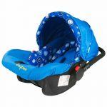 Buy Baybee Baby Car Seat Cum Carry Cot With Canopy (Blue)