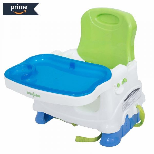 Buy Baybee 2 in 1 Premium Quality Baby Booster Seat Chair with 3 Point Safety Harness