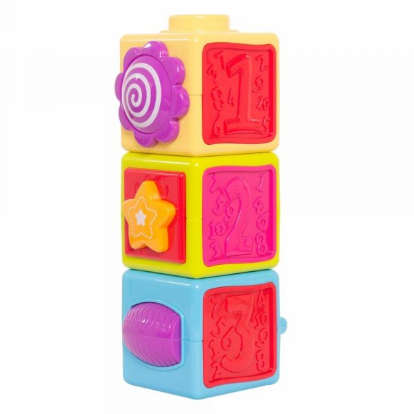 Buy Baybee - Stacking Block Set | Educational Building Toy for Kids | Durable Stacking Blocks for Toddlers