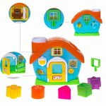 Buy Baybee - Smart Shapes Sorting Playhouse - Classic Developmental Toy for Preschool Toddlers 1 2 & 3 Year Olds