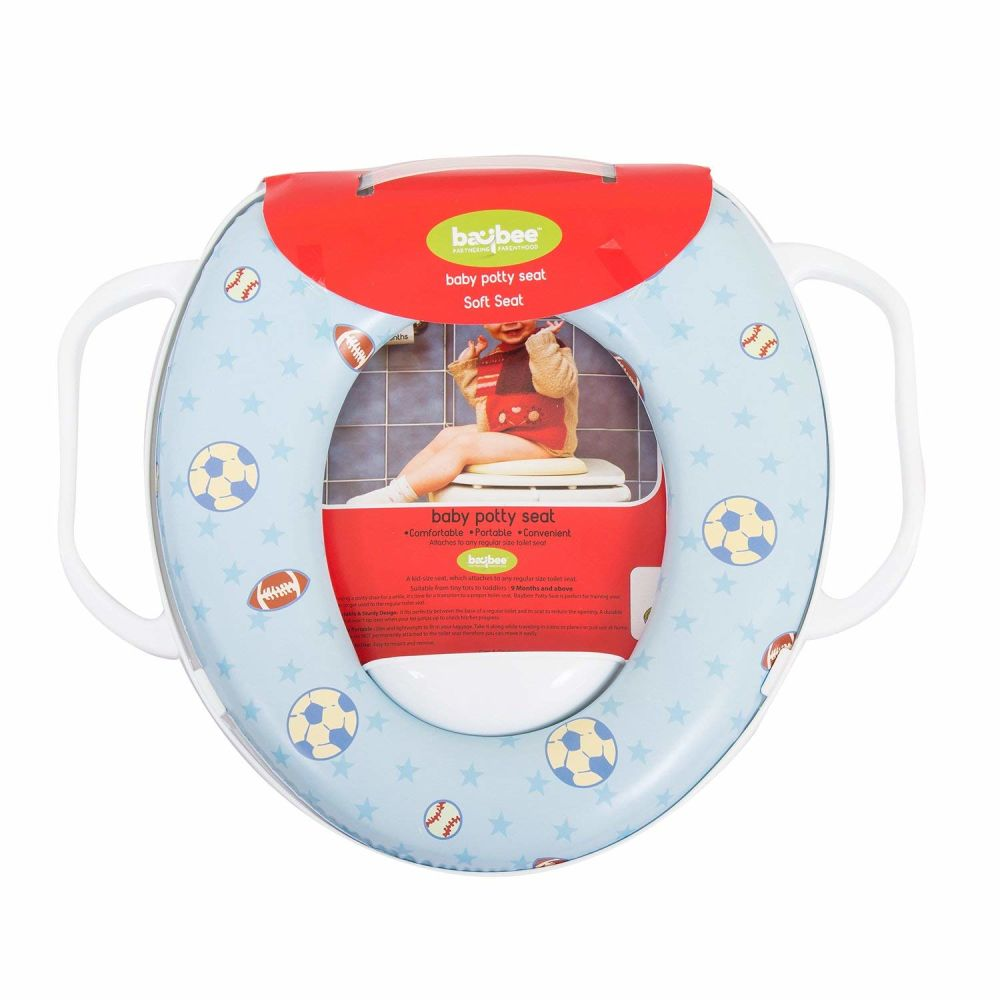 Portable Potty Training Seat Toddler Toilet Training Soft Potty
