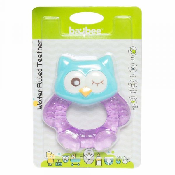 Buy Baybee - Bird Teething Toys for Best Baby Teether Massage. Molar Teeth Soother with Soft Sensory BPA Free Natural Silicone Teethers Toy for Babies
