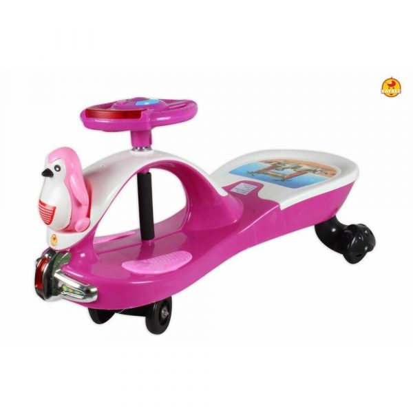 Buy Baybee Rico Magic Car Free Wheel Magic Car with Music | Push Car Ride on Car for Kids for 3 to 8 Years ( Pink )