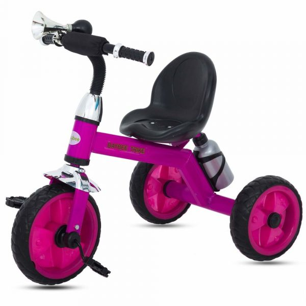 Buy Baybee Baby Tricycle Kid's Trike Children Tricycle/Bicycle with Water Bottle Kid's Ride on Outdoor | Suitable for Boys & Girls - (1 to 5 Years)- Pink