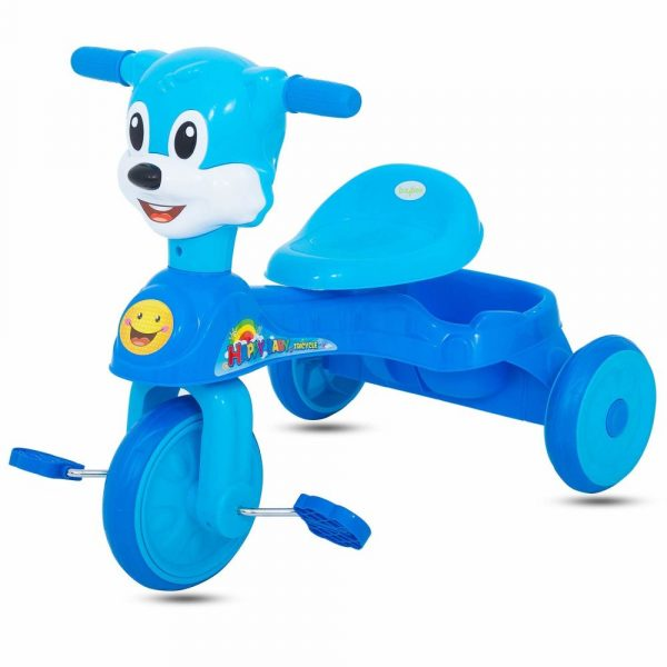 Buy Baybee Minion Baby Tricycle Kid's Trike with Parental Adjust Push Handle Children Tricycle/Bicycle for Kid's Ride on Outdoor | Suitable for Boys & Girls - (1 to 5 Years)- Blue