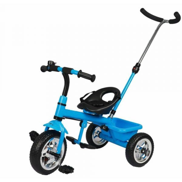 Buy Baybee Spectra Plug and Play Kids Tricycle | baby Tricycle kid's Trike with Parental adjust push handle children tricycle/bicycle with Parent Control Kid's Ride on Outdoor | Suitable For Boys & Girls - (1 to 5 Years) Blue