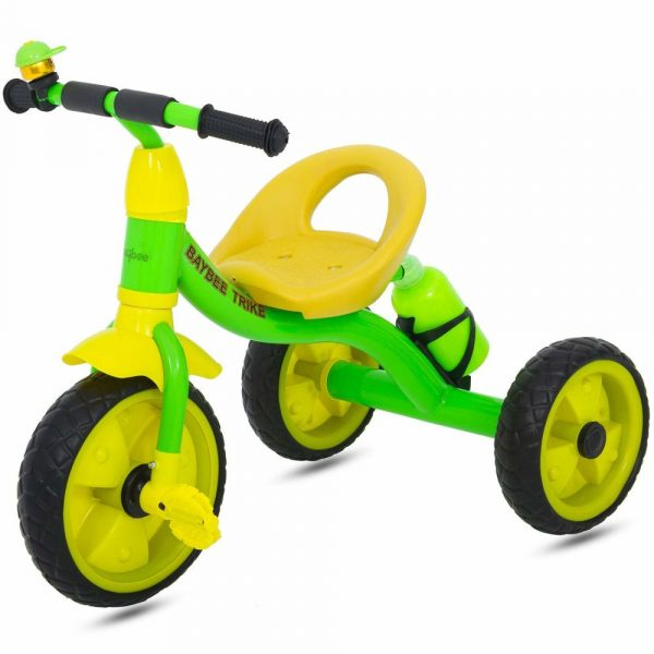 Buy Baybee Urraco Baby Tricycle -Trike with Water Bottle ( Green )