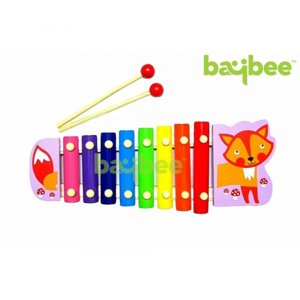 Buy Baybee Premium Wooden Color- Stacking Toyset Wooden Toy / Educational Toy for Children (Xylophone)