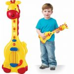 Buy Baybee Infunbebe Musical Giraffe Baby Guitar Educational Toys | Kids Guitar Rockband for Your Upcoming Superstar by Sceva