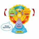 Buy Baybee Infunbebe Funny Spin Ferris Wheel Plastic Educational Toy Music for Kids