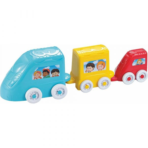 Buy Baybee Infunbebe Stacking Train | Train Toy for Kids Educational Toys Baby Toys with 3 Shapes