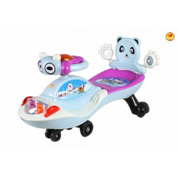Buy Baybee Piglet Magic Car Free Wheel Magic Car with Music   Push Car Ride on Car for Kids for 3 to 8 Years ( Blue )