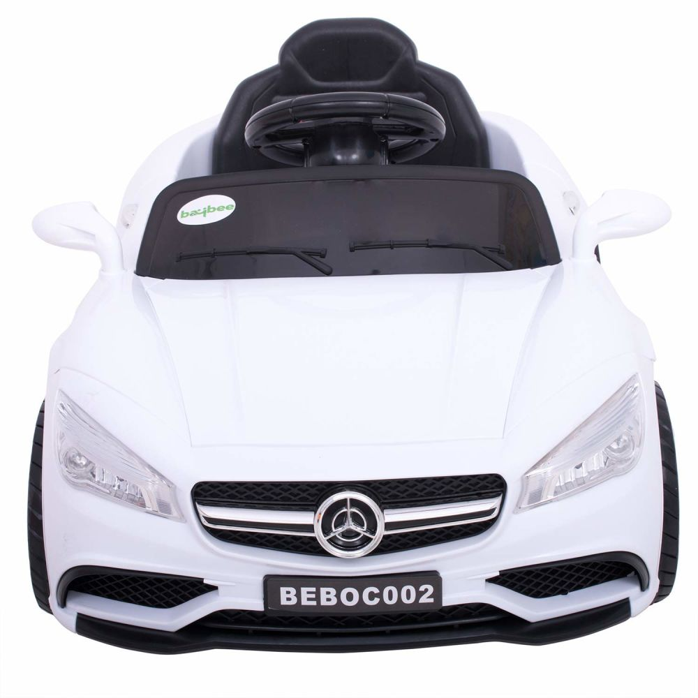 Mer Benz Battery Operated Ride On Car For Kids With Music Headlights