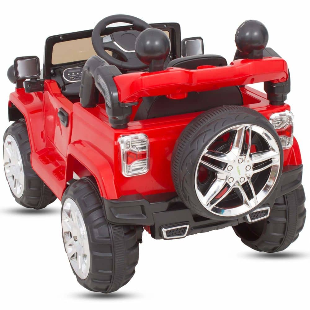Cayenney Battery Operated Ride On Jeep For Kids With Music