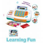 Buy Baybee Funbee Kids Toy Cash Register - Pretend Play Educational Toy Cash Register Lights and Sounds