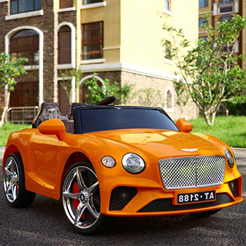 Baybee Bentley Baby Car Battery Operated Ride on Car with Dual Battery, Parental Remote Control, USB, AUX System and Seatbelt